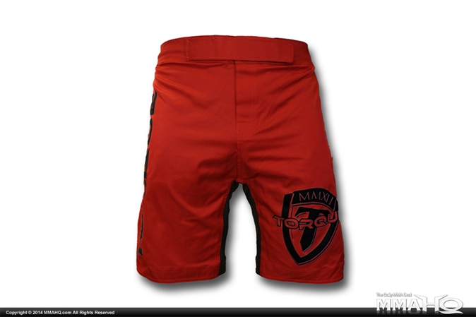 Torque Red Impact MMA Shorts